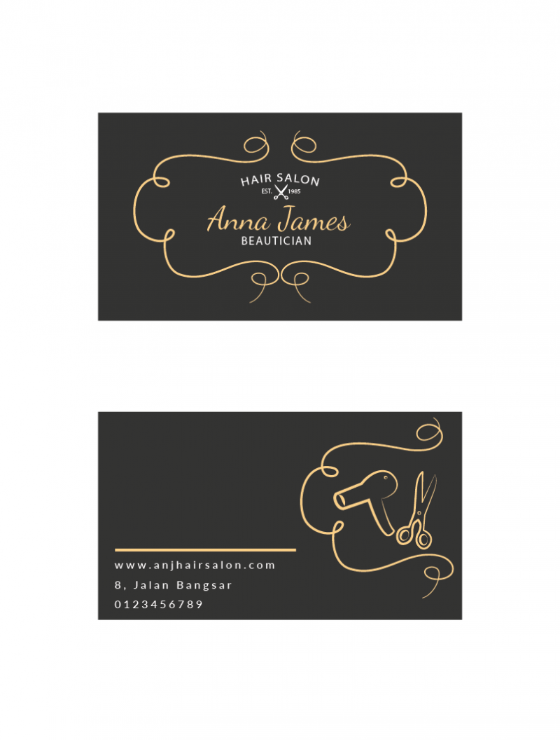 SBC3006 Personalize Business Cards - Business Cards - PRINTING ...