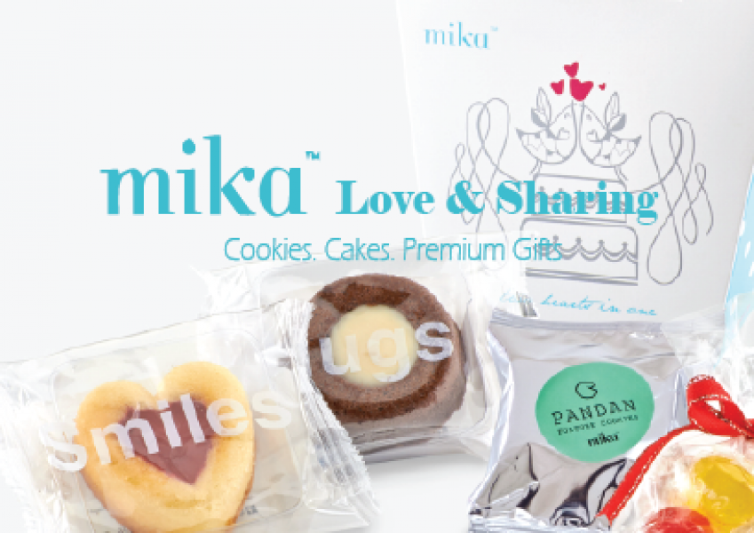 Mika' Cookies Cakes Exclusive Promotion 50% Off