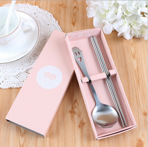 PFS2004 Pink Smile Always Party Spoon Set Favors - As Low As RM 2.50/pc