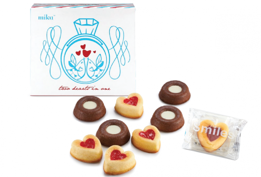 Mika Butterlicious -CHOCO/ORIGINAL/STRAWBERRY/pc individual packing ( Min 200pcs )