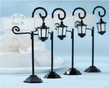 "WPCH2023 ""Bourbon Street"" Streetlight Place Card Holder  -As Low As RM4.82/ Pc"