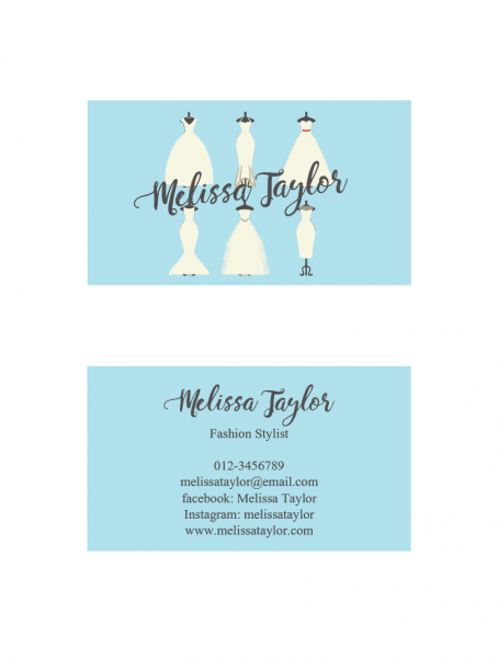 SBC3004 Personalize Business Cards