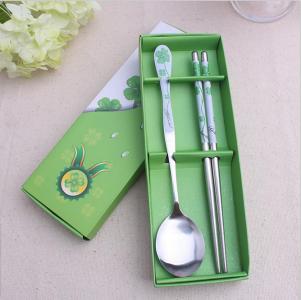 WFS2012 Korean & Chinese Spoon And Chopstick Favor - As Low As RM2.50 / Pc
