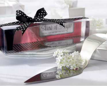"WKD2013  ""Slice of Style"" Stainless-Steel High Heel Cake Server - As Low As RM6.80 / Pc"