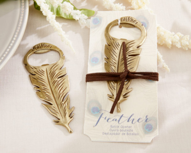 "WBO2013""Gilded Gold"" Feather Bottle  -As low as RM4.50 /pc"