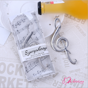 "WBO2024""SYMPHONY"" Chrome Music Note Bottle Opener - As Low As RM3.20 /  Pc"