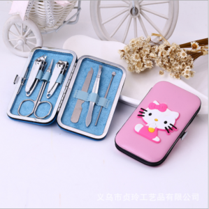 WMSO2017 Cartoon Purse Manicure Set  Favors (Pink) - As low as RM5.80 / Pc
