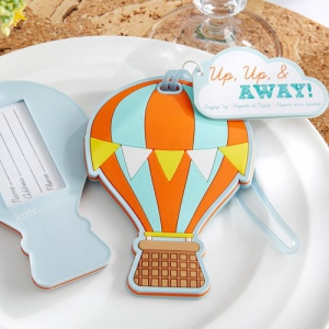 "WLT2012 ""Up, Up & Away"" Hot Air Balloon Luggage Tag - As Low As RM6.50/Pcs"