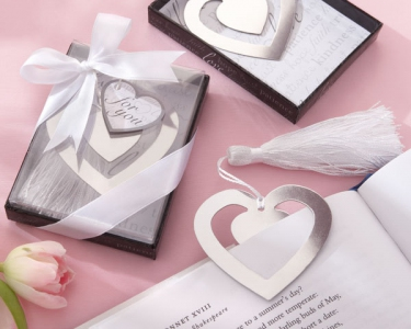 "WBM2043 ""Love Story"" Heart Shaped Bookmark - As Low As RM1.62 / Pc"