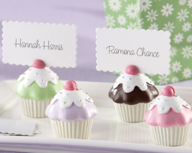 WPCH2024  Sweet Surprise Cupcake Place Card/Photo Holder-As Low As RM5.35/ Pc