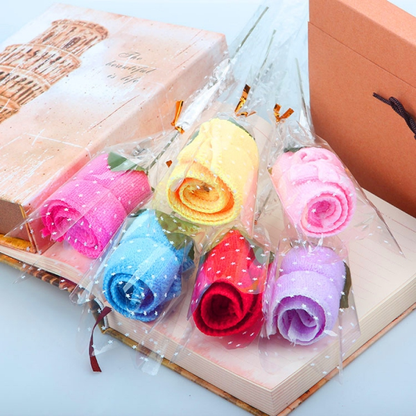 WTOW2003 Rose Towel Favor - As Low As RM4.50 /Pc