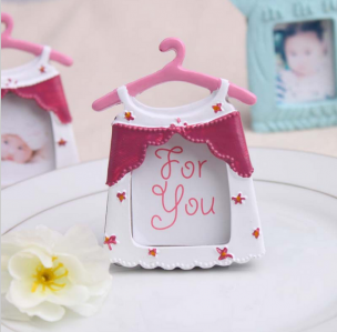 WPF2002-1 Pink Baby Dress Photo Frame - As Low As RM4.40 /Pc