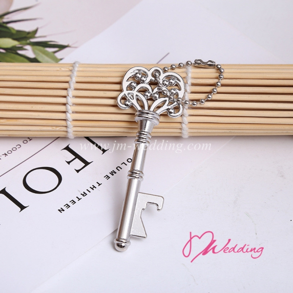 WBO2059-S Silver Key to My Heart Bottle Opener - As Low As RM2.10/Pc