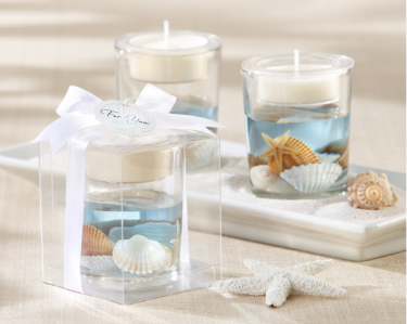 "WCH2044 ""Seashell"" Gel Tealight Holder- As Low As RM6.72 / pc"