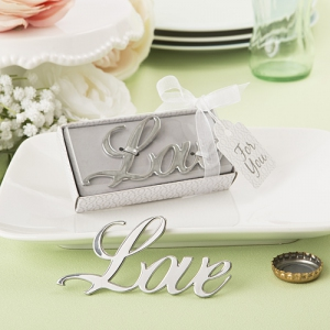 WBO2044  Love Themed Metal Bottle Opener - As Low As RM4.00/Pc