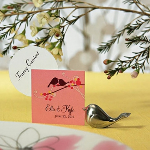 WPCH2022 Love Bird Place Card Holders -As Low As RM2.71/ Pc