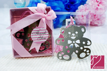 WBM2001-2 Teddy Bear Bookmark  - As Low As RM1.50 / Pc