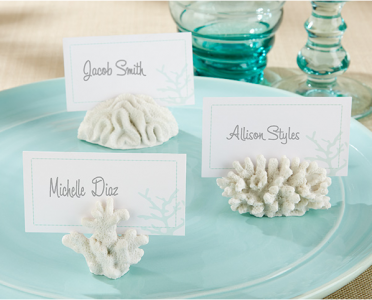 "WPCH2032 ""Seven Seas"" Coral Place Card/Photo Holder - As Low As RM2.71/Pc"
