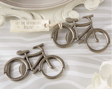 WBO2015 Polished Pewter Bicycle Bottle Openers - As Low As RM 3.50/Pc
