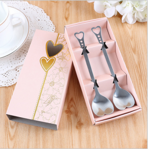 WFS2050 Love Peach Fork & Spoon (Teatime Set) - As Low As RM 2.80 / Set