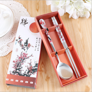WFS2025 Red Spoon And Chopstick - As Low As RM2.50 / Pc