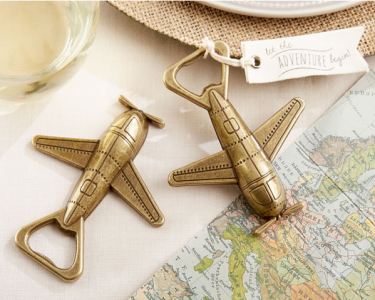 "WBO2022 ""Let the Adventure Begin"" Airplane Bottle Opener - As Low As RM4.70/  Pc"
