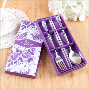 WFS2037 Purple Korean & Chinese Dining Set - As Low As RM 3.50 / Set