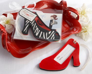 "WLT2008 ""First Class Fashionista"" High Heel Luggage Tag - As Low As RM6.80 / Pc"