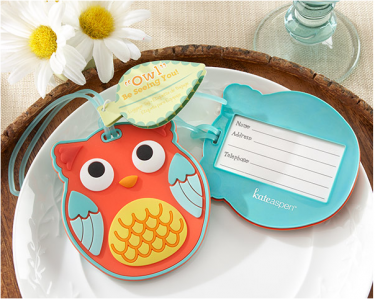 "WLT2005 ""Owl Be Seeing You"" Owl Luggage Tag - As Low As RM6.09 /Pc"
