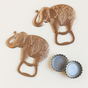 WBO2037 Lucky Golden Elephant Bottle Opener - As Low As RM5.00/Pc
