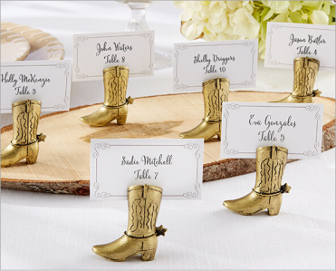 WPCH2033 Cowboy Boot Place Card Holder - As Low As RM2.90/Pc