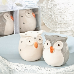 WMSB2030 Cute Owl Salt and Pepper Shakers - As Low As RM 3.80/Box