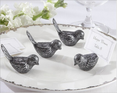 WPCH2035 Antiqued Bird Place Card Holder - As Low As RM3.10/Pc