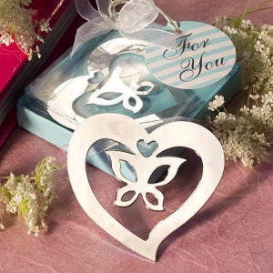WBM2042 Butterfly in the Heart Bookmark - As Low As RM1.62 / Pc