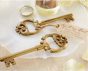 "WBO2031""Key To My Heart"" Antique Botttle Opener - As Low As RM3.80/Pc"