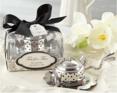 "WKD2010  ""Tea for Two"" Teapot Tea Infuser- As Low As RM9.60 / Pc"