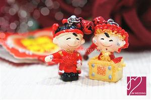 WHR2002  DaYu Small Happiness Couple Keychian F655D - As Low As RM 4.20 / Pair