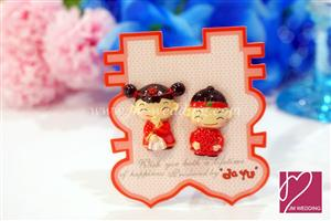 WMA2001 Happy Couple Fridge Magnets - 1 Pair, As low as RM2.80/pair
