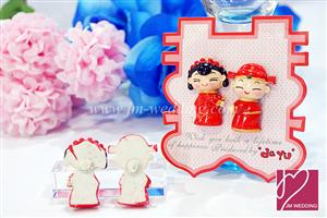 WMA2002 Sweet Couple Fridge Magnets - 1 Pair, As low as RM2.80/pair
