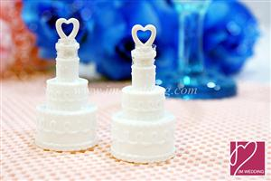 WMB2001 Wedding Cake Bubbles Favors - As low as RM1.10/Pc