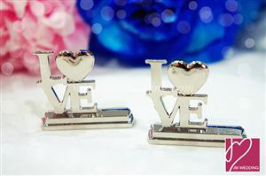 "WPCH2013 ""LOVE"" Place Card Holders - As Low As RM2.11 /Pc"