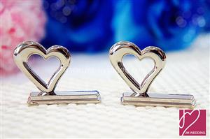 "WPCH2014  ""Heart "" Place Card Holder - As Low As RM2.11 /Pc"