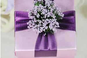 PLBS3003-1 Lavender Purple Square Box - As Low As RM3.00 / Pc