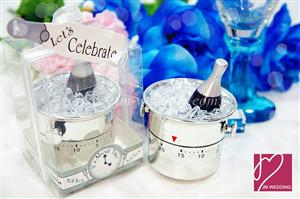 "WTIM2001 ""Let's Celebrate"" Champagne Bucket Timer - As Low As RM8.80 /Pc"