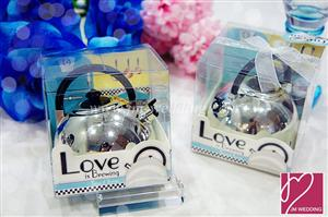 WTIM2002 Love is Brewing Teapot Timer - As Low As RM8.80 /Pc