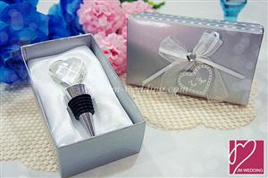 WWS2001 Love Crystal Ball Design Bottle Stopper - As Low As RM6.55/ Pc