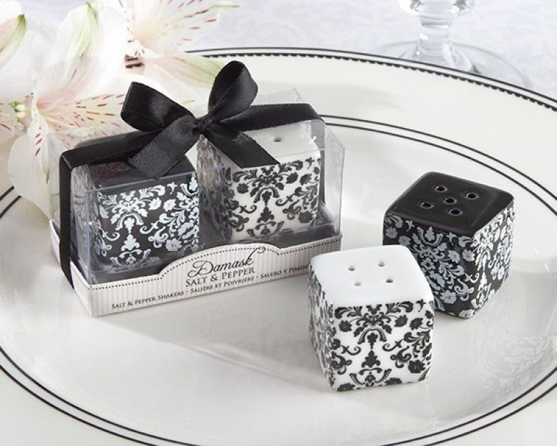 Wmsb2017 Damask Ceramic Salt Pepper Shakers As Low As Rm390