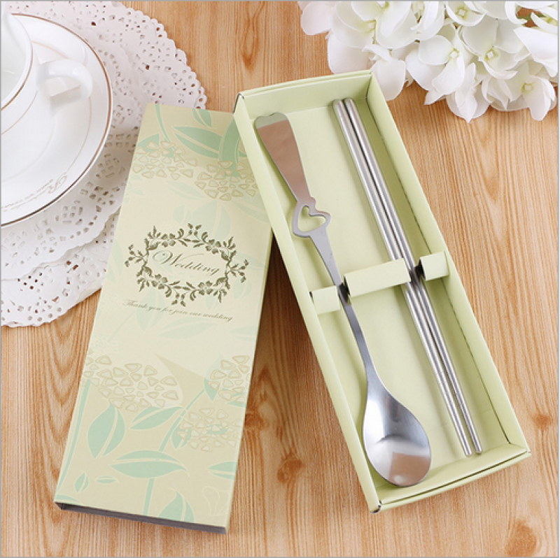 Wfs2013 Korean Western Spoon And Chopstick Favor As Low As Rm220