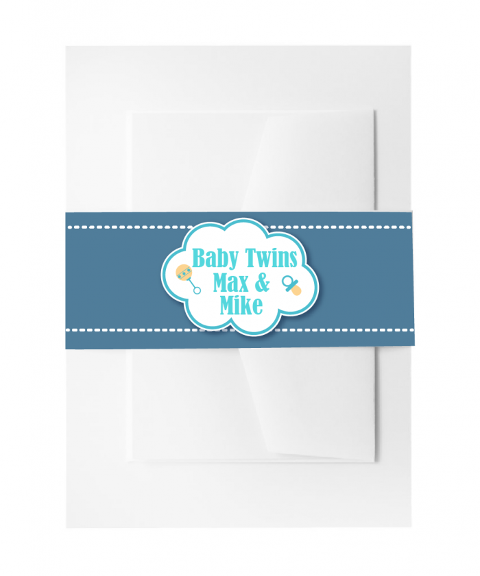 SBB3010 Personalize Invitation Belly Bands