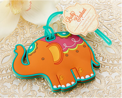 "WLT2004 ""Lucky Elephant"" Luggage Tag - As Low As RM5.40 /Pc"